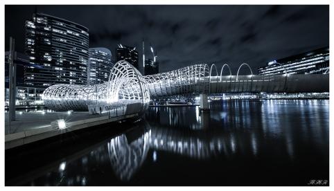 Melbourne Webb Bridge   5D Mark III   16-35mm 2.8L
