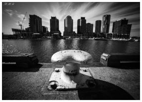 An alternative view of Docklands. 5D Mark III   14mm 2.8.