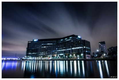 ANZ Building Melbourne, two minute exposure. 5D Mark III   16-35mm 2.8L II