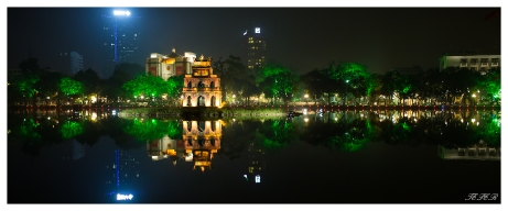 Turtle Tower (Tháp Rùa) Hanoi