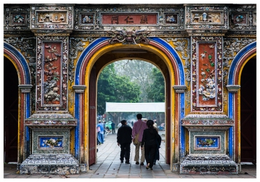 City gate in Hue
