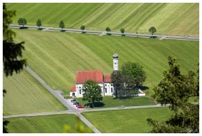 Patterns in the landscape. Schwangau, Bavaria. 5D Mark III | 100-400mm f4.5-5.6L IS II