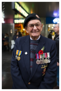 A vetaran of the Japanese occupation stands proud on Anzac Day, Melbourne. 5D Mark III | 24mm 1.4 Art.