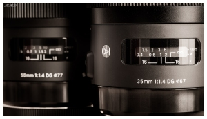 Sigma 35mm 1.4 Art lens