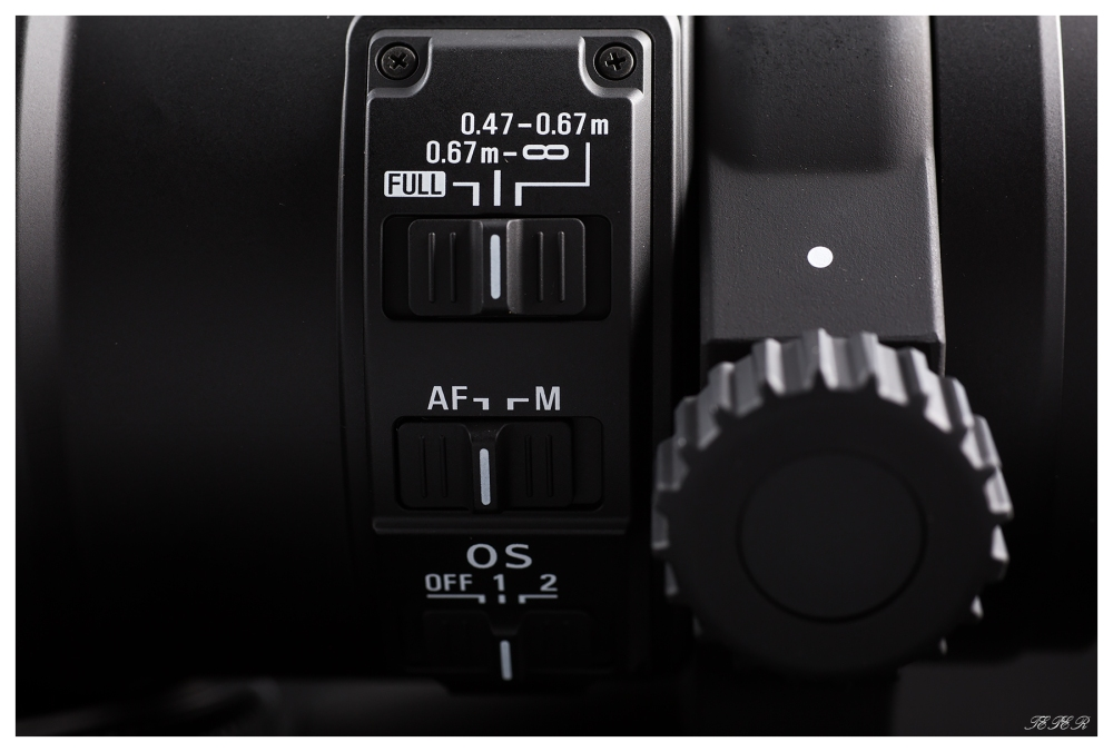Sigma 180mm lens switches