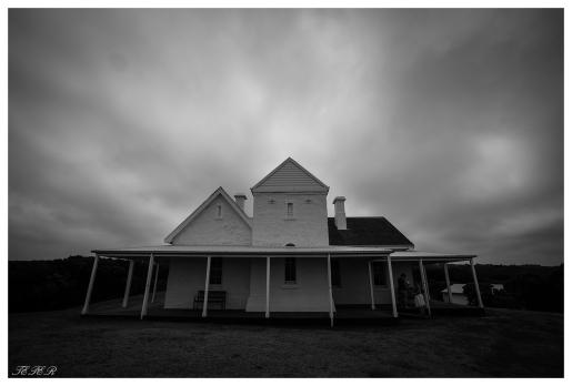 The lightkeeper's quarters, Great Ocean Road, Australia. 5D Mark III   16-35mm 2.8L II