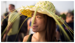 Straw Hat. 5D Mark III | 35mm 1.4 Art