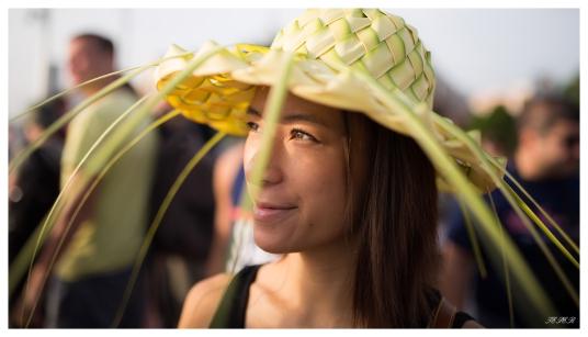 Straw Hat. 5D Mark III   35mm 1.4 Art