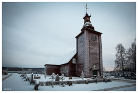 Swedish Stave Church | 5D Mark III | 16-35mm 2.8L II