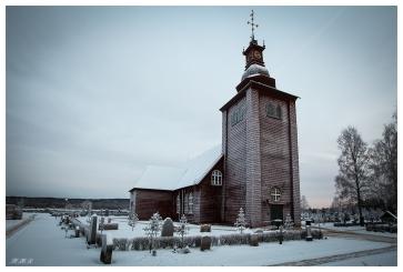 Swedish Stave Church | 5D Mark III | 16-35mm 2.8L II