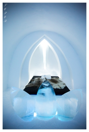One of the spectacular rooms at the Ice Hotel   5D Mark III   16-35mm 2.8L II