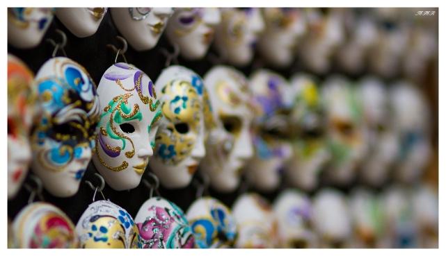 Venetian Masks | 7D | 85mm 1.4