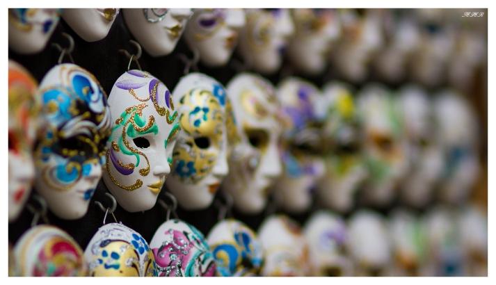 Venetian Masks   7D   85mm 1.4