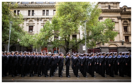 Anzac Day 2015 Soldiers lining up, 5D Mark III | 24mm 1.4 Art
