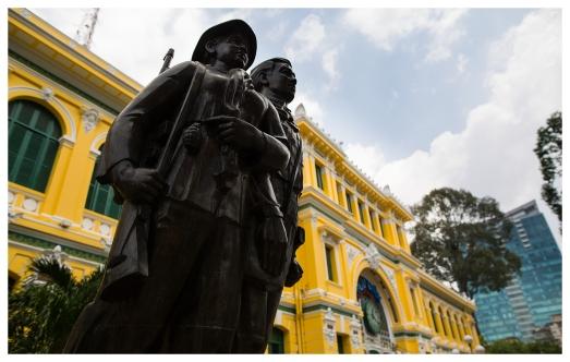 Saigon Post Office. 5D3   24mm 1.4A   f2.8