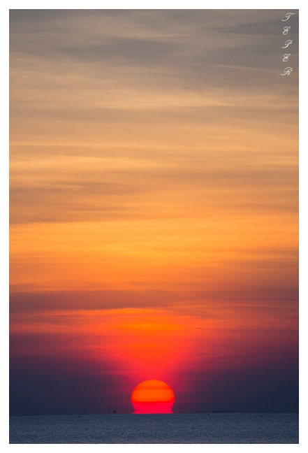 Another beautiful sunrise over Hoi An, 5D3 | 100-400L IS II | f9 | iso500