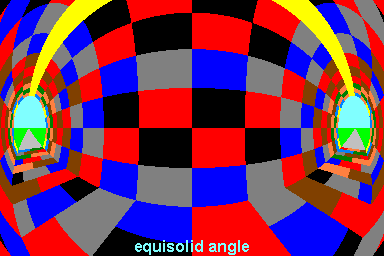 projection equisolid