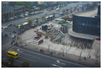 Morning Tai Chi in Jinsha, Shanghai. 5D Mark III   45mm 2.8 TS-E