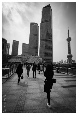 Down Town Shanghai. 5D Mark III   16-35mm 2.8L II