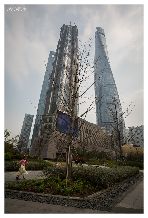 Shanghai Tower. 5D Mark III | 16-35mm 2.8L II