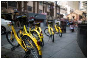 "Best city cycles I""ve seen.. rentable and unlockable by app. 5D Mark III 