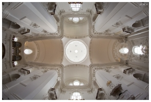 Roof of a church in Salzburg. 5D Mark III | 12mm 2.8 Fisheye