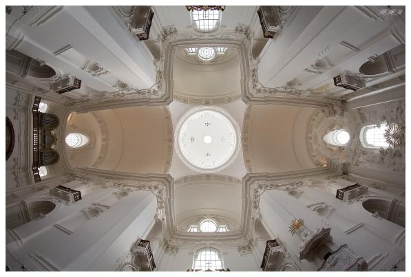 Roof of a church in Salzburg. 5D Mark III   12mm 2.8 Fisheye