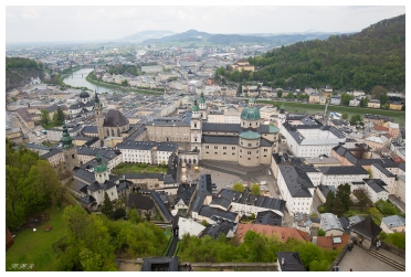 View of Salzburg from the fort. 5D Mark III   24mm 1.4 Art