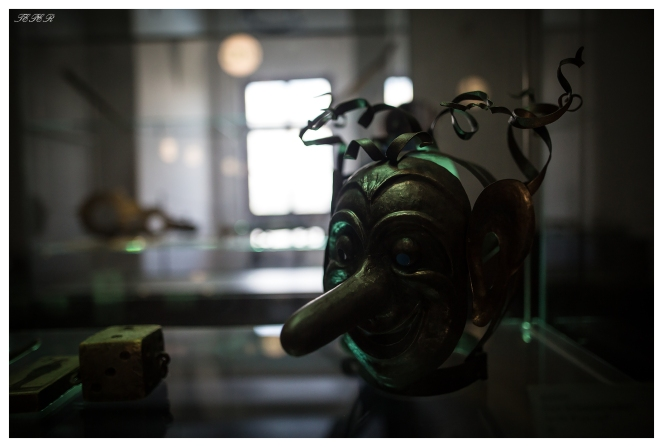 Scary mask at the fort museum. 5D Mark III | 24mm 1.4 Art