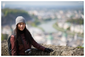 Vanessa enjoying the view. 5D Mark III | 85mm 1.2L II