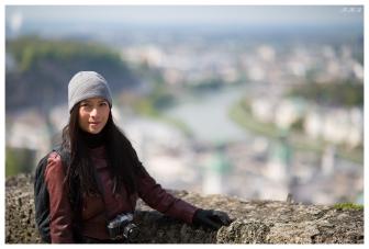 Vanessa enjoying the view. 5D Mark III   85mm 1.2L II