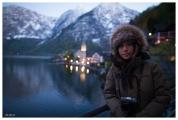 It was cold! Hallstatt, Austria. 5D Mark III | 24mm 1.4 Art
