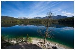 Eibsee, 5D Mark III | 16-35mm 2.8L II, Polariser
