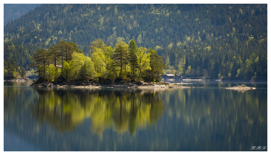 Eibsee, 5D Mark III | 180mm 2.8 Macro