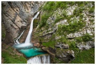 Waterfall Slap Savica, 5D Mark III | 16-35mm 2.8L II