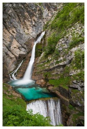 Waterfall Slap Savica, 5D Mark III   16-35mm 2.8L II