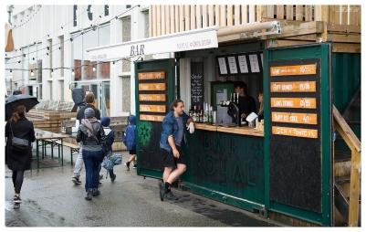 Outdoor Bar... Paper Island style. 5D Mark III | 50mm 1.4 Art.
