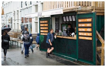 Outdoor Bar... Paper Island style. 5D Mark III   50mm 1.4 Art.