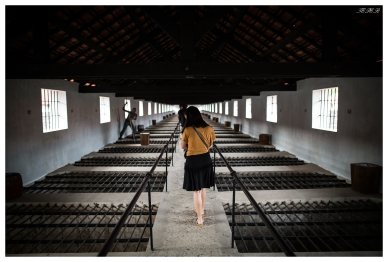 The incomprehensable french prison. Con Dao. 5D Mark III   24mm 1.4 Art