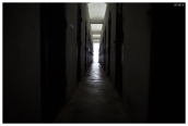 The American prison. The corridor was so dark and narrow, horrible place. Con Dao. 5D Mark III | 24mm 1.4 Art