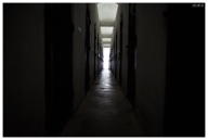 The American prison. The corridor was so dark and narrow, horrible place. Con Dao. 5D Mark III   24mm 1.4 Art