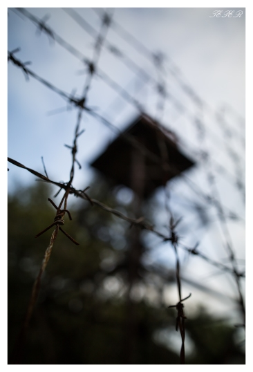 Old watch tower in the American prison. Con Dao. 5D Mark III   24mm 1.4 Art
