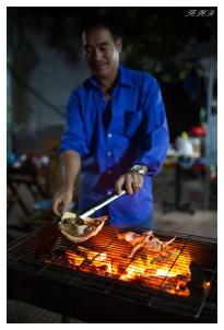 Street side restaurant. Con Dao town. 5D Mark III | 35mm 1.4 Art