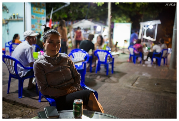 Waiting for dinner. Con Dao town. 5D Mark III   35mm 1.4 Art