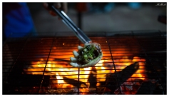 Part of our dinner. Con Dao town. 5D Mark III   35mm 1.4 Art