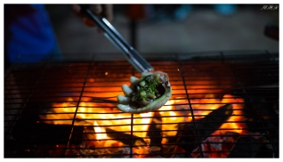 Part of our dinner. Con Dao town. 5D Mark III | 35mm 1.4 Art