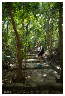 Our path back to civilisation. Con Dao National park. 5D Mark III   24mm 1.4