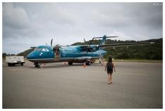 ATR-72 aircraft link Con Dao and Saigon. 5D Mark III   35mm 1.4 Art