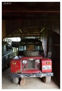 Old Land Rover, Mekong River, Laos. 5D Mark III | 24mm 1.4 Art