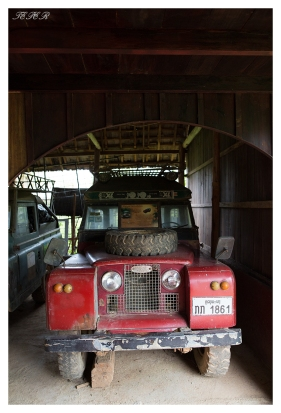 Old Land Rover, Mekong River, Laos. 5D Mark III   24mm 1.4 Art